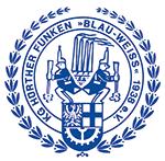 KG Hürther Funken Blau-Weiss e.V. Logo