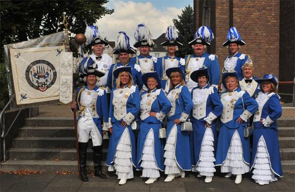 Offiziere - Gruppenbild