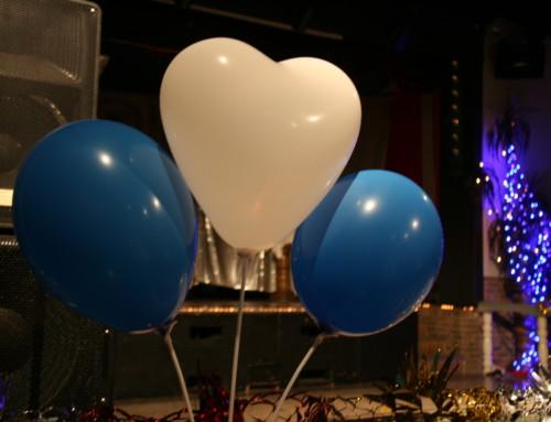 "Party in ""blau- weiss"" am 11.11.2016 im Treffpunkt Paula"